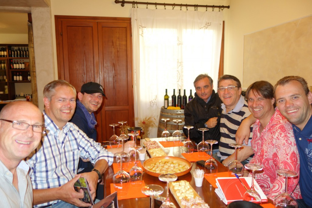 Winescouts on Tuscan Tour In Vino Leipzig