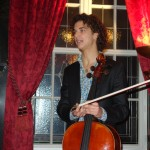 Cellist Fermin Villanueva